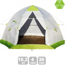 Зимняя палатка ЛОТОС 5С каркас Л5-С12 с полом ПУ4000