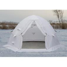 Зимняя палатка ЛОТОС 5С белый, каркас Л5-С12 с полом ПУ4000