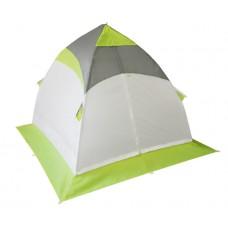Зимняя палатка Лотос 1 Оранжевая, алюминий