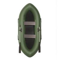 Лодка гребная Лоцман Турист 280 зеленая