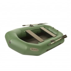 Лодка гребная под мотор Лоцман Профи 300 зеленая