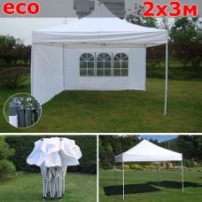 Быстросборный шатер со стенками  2х3м белый