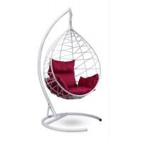 Подвесное кресло-кокон ALICANTE белое + каркас