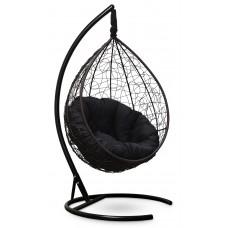 Подвесное кресло SEVILLA VERDE коричневое + каркас