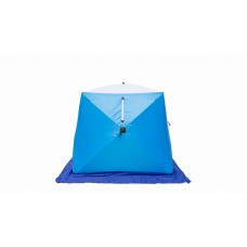 Палатка зимняя СТЭК КУБ-2 трехслойная Long дышащая