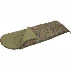 Спальный мешок-одеяло СП 2L Mobula (камуфлированный) c подголовником