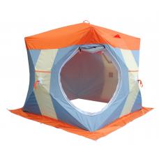 Палатка для зимней рыбалки Митек Нельма Куб-2 Люкс