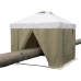 Палатка сварщика 3.0 х 3.0 (ПВХ+брезент)