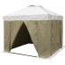 Палатка сварщика Митек 3.0 х 3.0 (ПВХ+брезент)