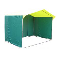 Торговая палатка Митек Домик 2.5х2 квадратная труба