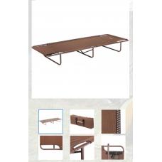 Кровать походная 630-98828 (пр-во ГК Тонар) NISUS (Коричневый, )