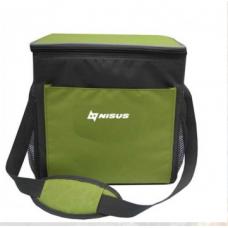 Изотермическая сумка-холодильник N-1657 (15L) NISUS (Зеленый, )