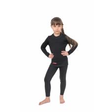 Термобельё комплект  Extrim Kids (3 слоя) Comfort (Черный, рост 116-122)