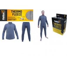 Термобельё комплект Thermo-Fleece (флис на молнии)  Helios (Серый,  3XL (58-60/182))