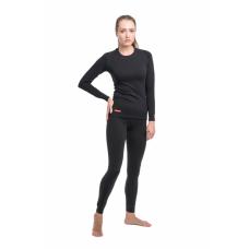 Термобельё комплект  Classic Woman (2 слоя) Comfort (Черный, 50, рост 164-170)