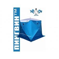 Палатка для зимней рыбалки Пингвин Премиум Strong (2-сл) 225х215