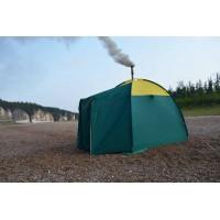 Способы обогрева зимней палатки: печь на дровах, теплообменник или газовый обогреватель