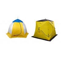 Зимняя палатка для рыбалки Куб или Зонт – что выбрать?