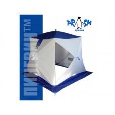 Палатка для зимней рыбалки Пингвин Призма Термолайт 185х185 композит синий