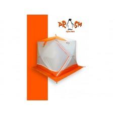 Палатка для зимней рыбалки Пингвин Призма Премиум 215*215 (1 сл.) В95Т1 оранжевая
