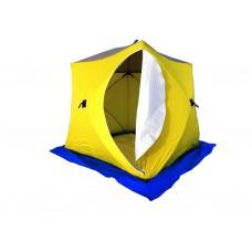 Палатка зимняя СТЭК КУБ-3 трехслойная (дышащий верх)