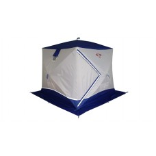 Палатка для зимней рыбалки Пингвин Призма Премиум 215*215 (2 сл.) В95Т1 синяя