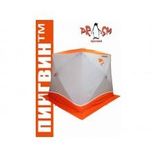 Палатка для зимней рыбалки Пингвин Призма BRAND NEW (2-сл) 200х185 оранжевая B95T1