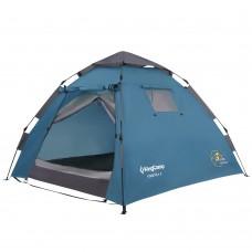 3093 MONZA 2  палатка - автомат (2, голубой) KING CAMP