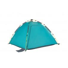 4082 AOSTA 3 палатка-полуавтомат (голубой) KING CAMP