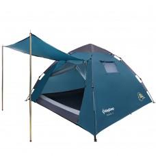 3094 MONZA 3  палатка - автомат (3, голубой) KING CAMP