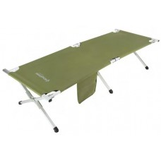 3806A Armyman Camping Bed   кровать скл. алюм (зеленый 190Х63Х42) KING CAMP