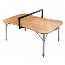 1920 Multipurpose bamboo game tabel  стол скл. Бамбук, алюм (120х80x70 см)