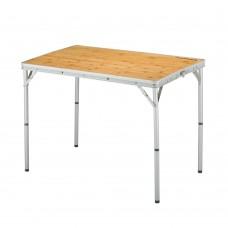 3935 Bamboo table S стол скл. Бамбук, алюм (45Х60Х27/59 см) KING CAMP