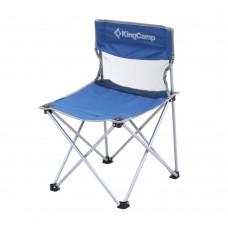 3832 Compact Chair М стул скл. cталь (44X44X66, синий) KING CAMP
