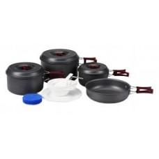 3912 CLIMBER 3 набор посуды на 4 персоны KING CAMP