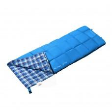 3103 ACTIVE 250 -5С 190x75 спальный мешок (синий, левый) KING CAMP