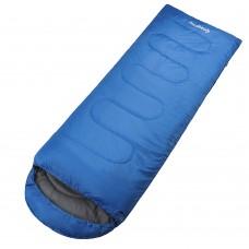 3155 OASIS 300  -13С 190+30x80 спальный мешок (синий, левый) KING CAMP