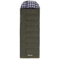 3153 FOREST 500 -22C спальный мешок (зеленый правый) KING CAMP