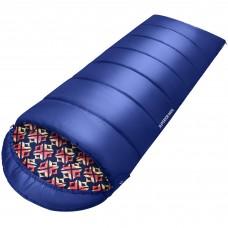 2003 SUPERIOR 400XL -18С 230x92 спальный мешок (-18°C, синий, левый) KING CAMP