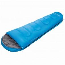 3131 TRECK 300  215x80x55 спальный мешок (-13С, синий, левый) KING CAMP