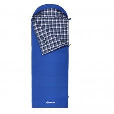 3128 COMFORT 280 -15С 210x90 спальный мешок (-15С, синий левый) KING CAMP