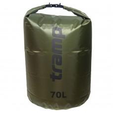 Tramp гермомешок ПВХ Diamond RipStop 70 л (оливковый)