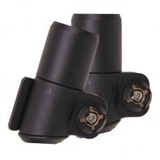 Tramp зажимы Fast lock 18mm (черный)
